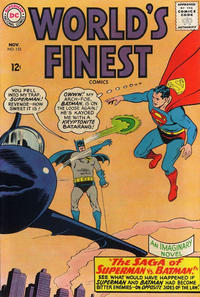Cover Thumbnail for World's Finest Comics (DC, 1941 series) #153