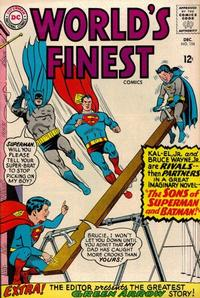 Cover Thumbnail for World's Finest Comics (DC, 1941 series) #154
