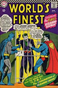 Cover for World's Finest Comics (DC, 1941 series) #156