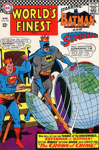Cover Thumbnail for World's Finest Comics (DC, 1941 series) #165