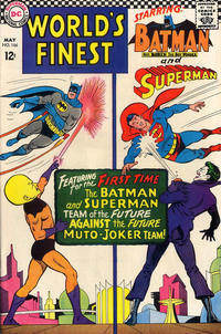 Cover Thumbnail for World's Finest Comics (DC, 1941 series) #166