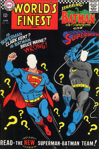 Cover Thumbnail for World's Finest Comics (DC, 1941 series) #167