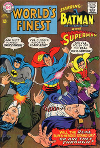 Cover Thumbnail for World's Finest Comics (DC, 1941 series) #168