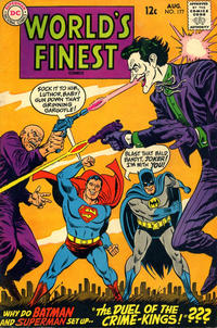 Cover Thumbnail for World's Finest Comics (DC, 1941 series) #177