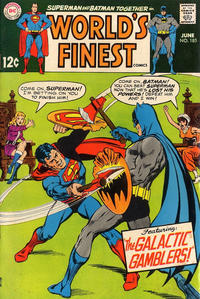 Cover Thumbnail for World's Finest Comics (DC, 1941 series) #185