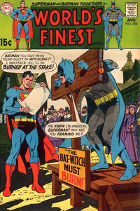 Cover Thumbnail for World's Finest Comics (DC, 1941 series) #186