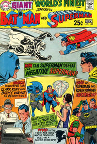 Cover Thumbnail for World's Finest Comics (DC, 1941 series) #188