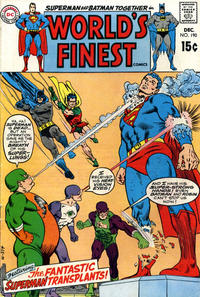 Cover Thumbnail for World's Finest Comics (DC, 1941 series) #190