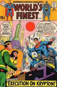 Cover for World's Finest Comics (DC, 1941 series) #191
