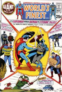 Cover Thumbnail for World's Finest Comics (DC, 1941 series) #197