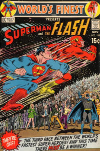 Cover for World's Finest Comics (DC, 1941 series) #198