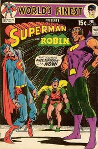 Cover Thumbnail for World's Finest Comics (DC, 1941 series) #200