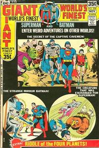 Cover Thumbnail for World's Finest Comics (DC, 1941 series) #206