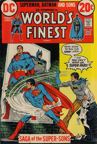 Cover Thumbnail for World's Finest Comics (DC, 1941 series) #215
