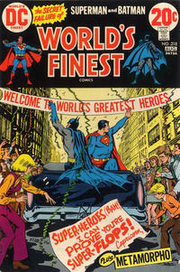Cover Thumbnail for World's Finest Comics (DC, 1941 series) #218