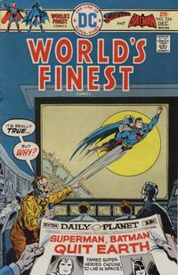 Cover Thumbnail for World's Finest Comics (DC, 1941 series) #234