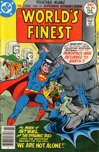 Cover Thumbnail for World's Finest Comics (DC, 1941 series) #243