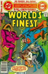 Cover Thumbnail for World's Finest Comics (DC, 1941 series) #256