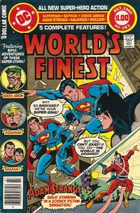 Cover for World's Finest Comics (DC, 1941 series) #263
