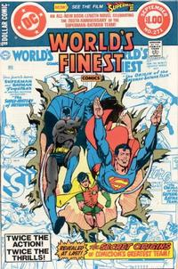 Cover Thumbnail for World's Finest Comics (DC, 1941 series) #271 [Direct Sales]