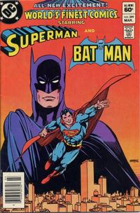 Cover Thumbnail for World's Finest Comics (DC, 1941 series) #289 [Newsstand]