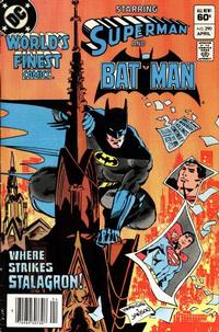 Cover Thumbnail for World's Finest Comics (DC, 1941 series) #290 [Newsstand]