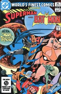 Cover Thumbnail for World's Finest Comics (DC, 1941 series) #295 [Direct]
