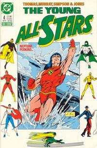 Cover Thumbnail for Young All-Stars (DC, 1987 series) #4