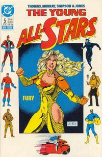 Cover Thumbnail for Young All-Stars (DC, 1987 series) #5