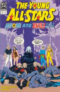 Cover Thumbnail for Young All-Stars (DC, 1987 series) #21