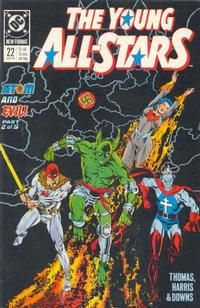 Cover Thumbnail for Young All-Stars (DC, 1987 series) #22