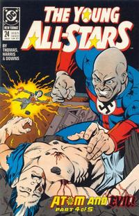 Cover Thumbnail for Young All-Stars (DC, 1987 series) #24