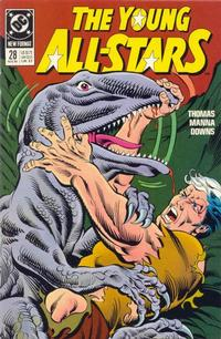 Cover Thumbnail for Young All-Stars (DC, 1987 series) #28