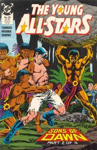Cover Thumbnail for Young All-Stars (DC, 1987 series) #29