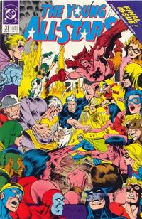 Cover Thumbnail for Young All-Stars (DC, 1987 series) #31