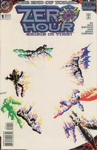 Cover Thumbnail for Zero Hour: Crisis in Time (DC, 1994 series) #1 [Direct Sales]