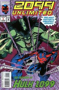 Cover Thumbnail for 2099 Unlimited (Marvel, 1993 series) #1 [Direct Edition]