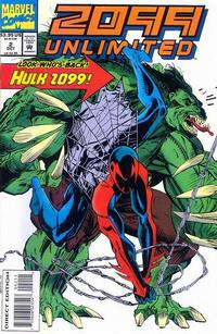 Cover Thumbnail for 2099 Unlimited (Marvel, 1993 series) #2 [Direct Edition]