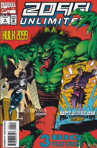 Cover Thumbnail for 2099 Unlimited (Marvel, 1993 series) #4 [Direct Edition]
