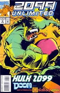 Cover Thumbnail for 2099 Unlimited (Marvel, 1993 series) #6
