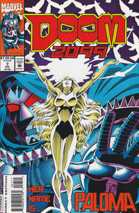 Cover Thumbnail for Doom 2099 (Marvel, 1993 series) #7 [Direct Edition]