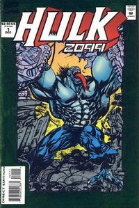 Cover Thumbnail for Hulk 2099 (Marvel, 1994 series) #1 [Direct Edition]