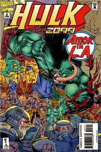 Cover Thumbnail for Hulk 2099 (Marvel, 1994 series) #3 [Direct Edition]