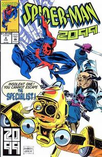 Cover Thumbnail for Spider-Man 2099 (Marvel, 1992 series) #4