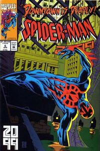 Cover for Spider-Man 2099 (Marvel, 1992 series) #6 [Direct]