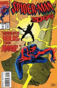 Cover for Spider-Man 2099 (Marvel, 1992 series) #15