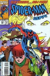 Cover for Spider-Man 2099 (Marvel, 1992 series) #23