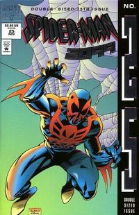 Cover Thumbnail for Spider-Man 2099 (Marvel, 1992 series) #25 [Direct Deluxe Edition]