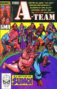 Cover Thumbnail for The A-Team (Marvel, 1984 series) #2 [Direct Edition]