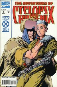Cover Thumbnail for The Adventures of Cyclops and Phoenix (Marvel, 1994 series) #2 [Direct Edition]